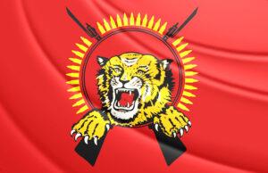 Tamil Tiger Vlag